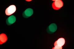 Lumières de Bokeh recouvrement Fond contexte Images libres de droits