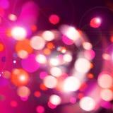 Lumières de célébration photos stock