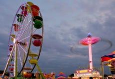 Lumières de carnaval Images libres de droits