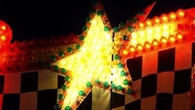 Lumières 23 de carnaval banque de vidéos