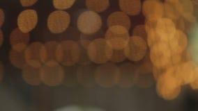 Lumières de carrousel banque de vidéos