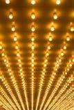 Lumières de chapiteau Images stock
