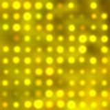 Lumières de circulaire d'or Images stock