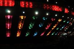 Lumières de conduite de carnaval Images stock