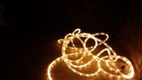 Lumières de corde images stock
