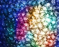 Lumières de couleur Image libre de droits