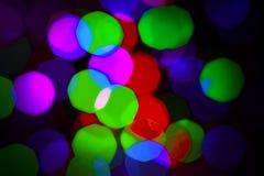 Lumières de couleur Photos stock