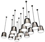 Lumières de CSP Photo stock