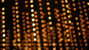 Lumières de Defocus Image libre de droits