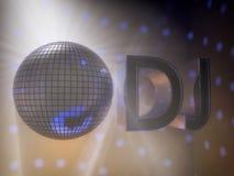 Lumières de disco Photos libres de droits