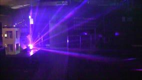Lumières de discothèque banque de vidéos