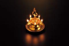 Lumières de Diwali illustration stock
