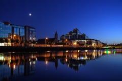 Lumières de Dublin photo libre de droits