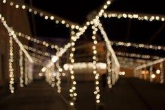 Lumières de fête Photographie stock libre de droits