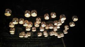 Lumières de festival photographie stock libre de droits