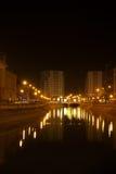 Lumières de fleuve Photo stock