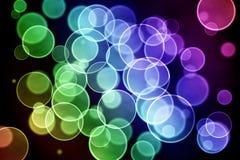 Lumières de fond de Bokeh Images stock