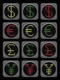 Lumières de forex Photographie stock libre de droits