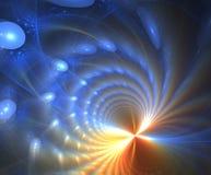 Lumières de fractale Image libre de droits