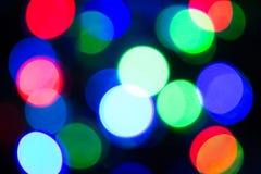 Lumières de la couleur LED Photo libre de droits
