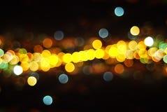 Lumières de la ville Photos libres de droits