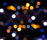 Lumières de la ville Photographie stock