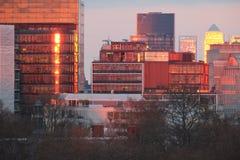 Lumières de Londres Image libre de droits