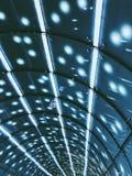 Lumières de métro Photo libre de droits