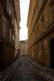 Lumières de matin sur l'architecture baroque Photographie stock