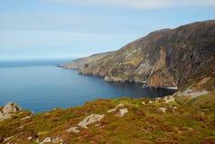 Lumières de matin sur la ligue de Slieve, Irlande photo libre de droits