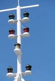 Lumières de navigation. Images libres de droits