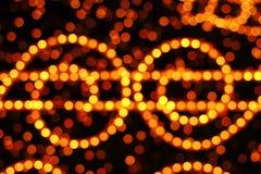 Lumières de Noël Photos libres de droits