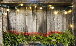 Lumières de Noël Image stock