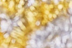 Lumières de Noël brouillées, fond abstrait photo stock