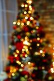 Lumières de Noël de Bokeh photos stock