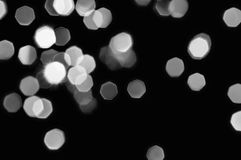 Lumières de Noël Defocused Image libre de droits