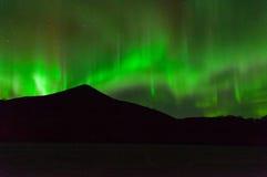 Lumières de Norrthern Photographie stock libre de droits