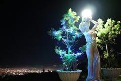 Lumières de nuit Image stock