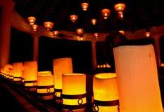 Lumières de nuit Photos stock
