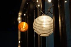 Lumières de nuit Photographie stock libre de droits