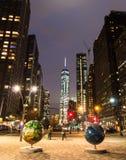 Lumières de NY Images libres de droits