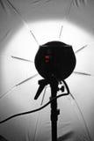 Lumières de parapluie Photographie stock libre de droits