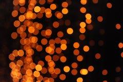 Lumières de partie Photographie stock libre de droits