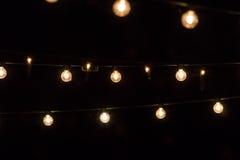 Lumières de partie Image stock