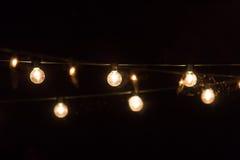 Lumières de partie Photos stock
