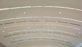 Lumières de plafond Photographie stock
