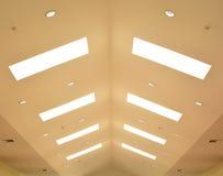 Lumières de plafond Photographie stock libre de droits
