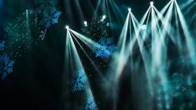 Lumières de projecteur et d'étape Photo stock