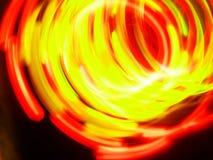 Lumières de rotation Images libres de droits