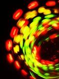 Lumières de rotation Photographie stock